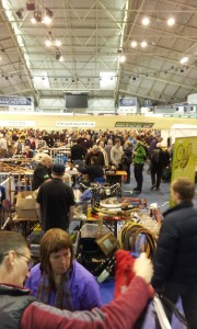 Cycle jumble sale at the velodrome